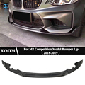 MP-Style Bumper Dry carbon fiber Front lip Spoiler For BMW F87 M2 Competition