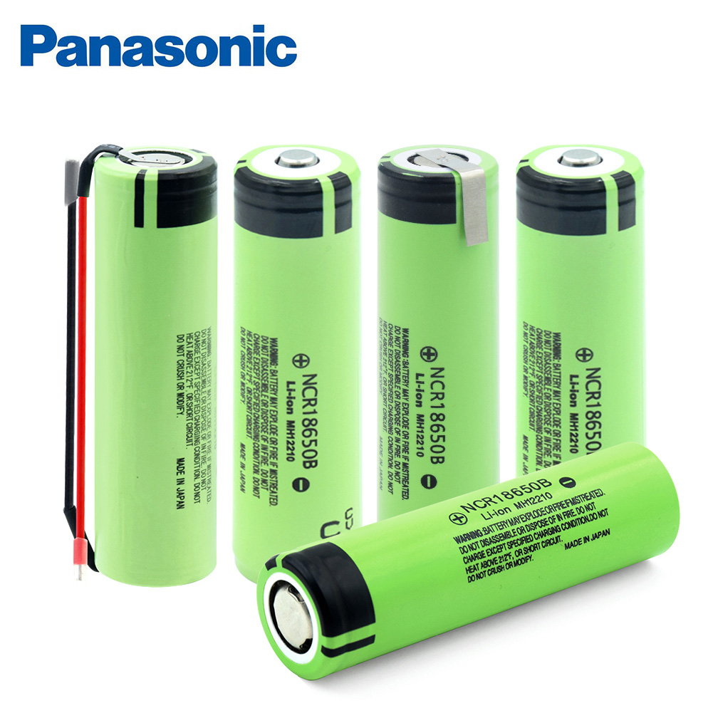 100% New Panasonic <font><b>18650</b></font> Battery 3.7V 3400mAh <font><b>ncr18650B</b></font> Rechargeable Lithium Li-ion Battery Flashlight Torch Special Batteries image