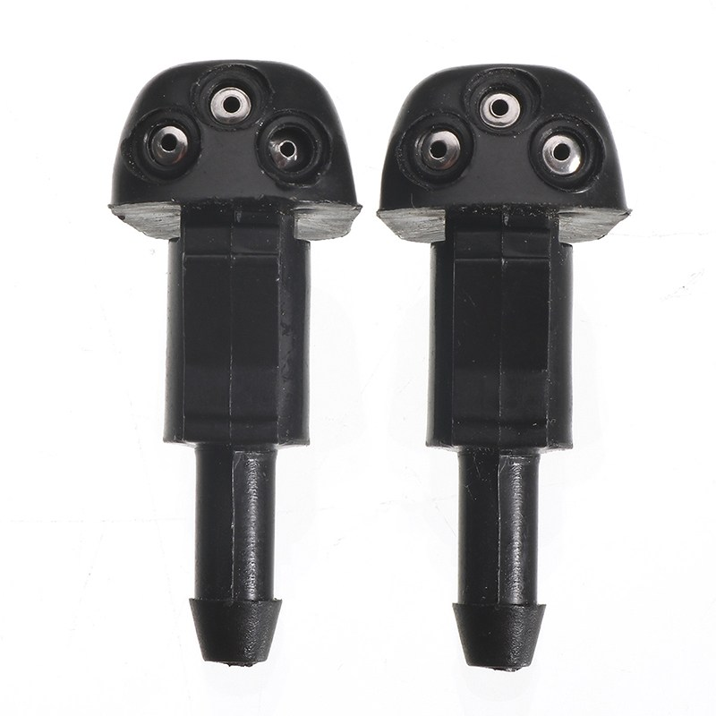 Pair Plastic Car Glass Window Windscreen Wiper Water Spray Nozzle Jet For <font><b>Honda</b></font> <font><b>ACCORD</b></font> 2008 <font><b>2009</b></font> 2010 2011 2012 2013 2014 2015 image