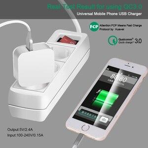 Image 5 - Novo QC 3.0Hz 50 60 USB móvel carregador Rápido de carga rápida Para iPhone Samsung Huawei Xiaomi HTC LG carregador Do Telefone móvel