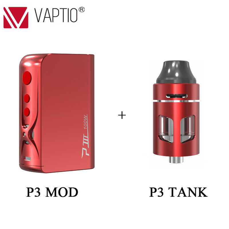 vape mod Vaptio P3 Mod built-in 3000mAh battery with 30~100W output power Electronic cigarette kit