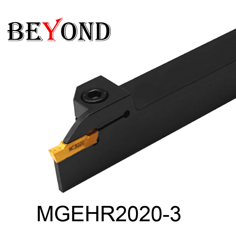 OYYU Factory Outlets MGEHR2020-3 MGEHR MGEHR2020 External Turning Tool Holder Boring Bar CNC Machine Cutting Lathe Cutter Tools