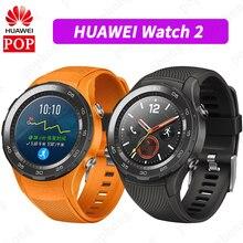 Ban Đầu Toàn Cầu Rom Đồng Hồ Huawei Watch 2 Đồng Hồ Thông Minh Hỗ Trợ Bluetooth LTE4G Heartrate Theo Dõi Cho Android IOS IP68 Chống Nước NFC GPS