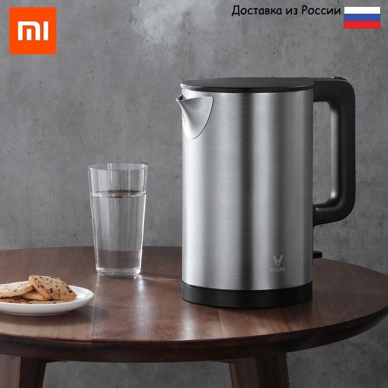 Чайник Viomi Electric Kettle YM K1506 (ТР) Мощность 1800 W, Объем1.5 л, Вес (g) 800, Нержавеющая сталь F 00004635 Электрические чайники    АлиЭкспресс