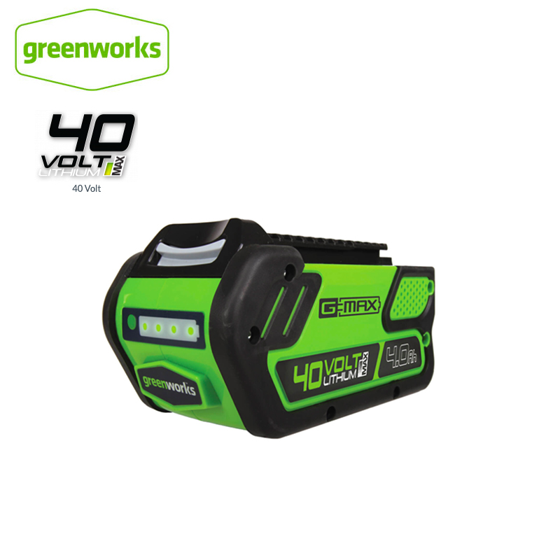 GreenWorks 29472 G-MAX 4Ah/5Ah/6Ah Li-Ion 40V G-MAX Battery High Quality ECO Lithium Battery For Various Products Of Greenworks