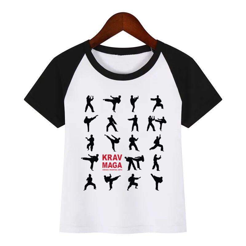 Clothing - kinder t-shirt krav maga