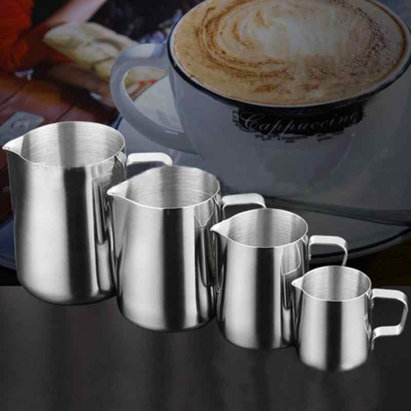Dapur Stainless Steel Susu Buih Pitcher Kopi Espresso Barista Kerajinan Latte Cappuccino Susu Cream Cup Buih Kendi Pitcher