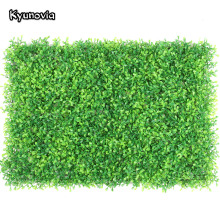 Hedge-Mat Greenery-Panel Fence-Screen Boxwood Artificial-Grass Privacy Outdoor Plants