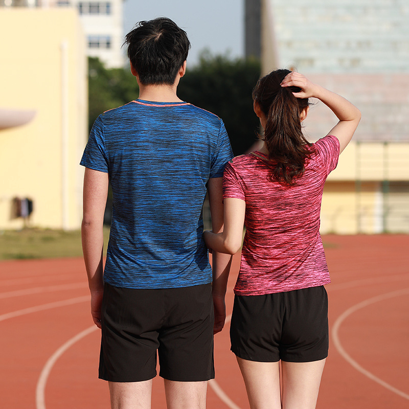 Sports Leisure Suit Couples Fast Drying Clothes Suit Fashion Outdoor Men And Women Running Fitness Suit Customizable