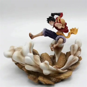 Anime ONE PIECE Gear Third Luffy Elephant Gun Weapon colour Scene statues PVC Action Figure Collection Model Toy B39