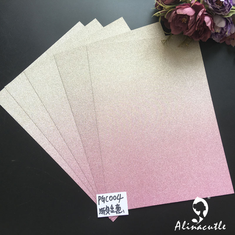 Paper-Pack Background-Paper Craft Glitter-Card Scrapbooking Premium Pink Silver Yellow title=