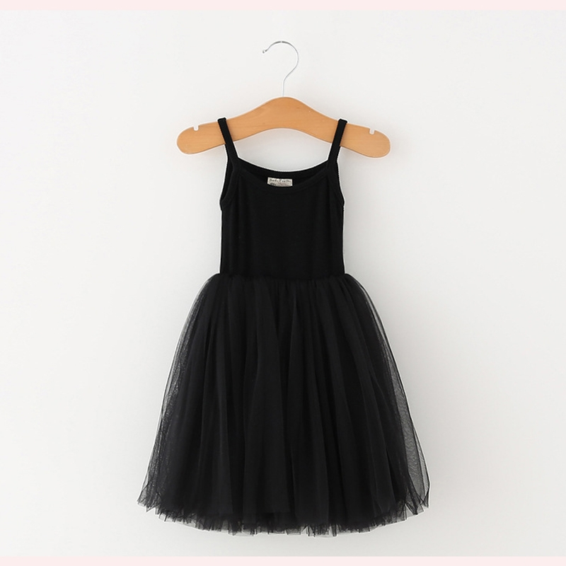 A-line Kids Dresses For Girls Clothing Solid Sling Teenager Casual Children Girl Dress Holiday Vestido Infantil 6 7 8 Years 6