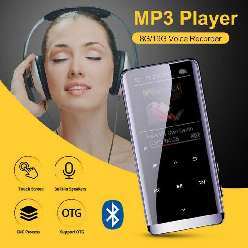 MP5 Player Bluetooth Bluetooth MP3 Mini MP4 Lossless HIFI 5D Touch Screen Portable New MP5 Walkman Music Player Dropshipping