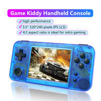GKD 350H - Retro Game Console Video Game Handheld-GameKiddy GKD350H MINI 3.5inch IPS Screen game player RG350 H