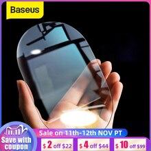 Baseus 2Pcs 0.15mm רכב Rearview מראה מגן סרטים אנטי ערפל חלון שקפים עמיד למים אטים לגשם מגן רכב מדבקה