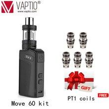 【Специальная цена и дополнительный подарок 】Vaptio Vape Kit MOVE 60 TC Series 60W Bulit up 2100mAh коробка Vape Mod 2,0 мл бак электронная сигарета