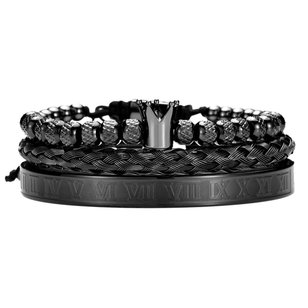 Black Set Crown