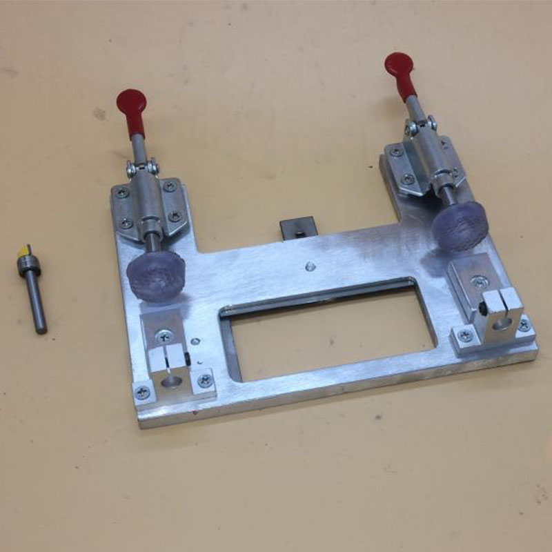 Hinge opening positioning template hinge Locator woodworking hole puncher with drill universal installation tool