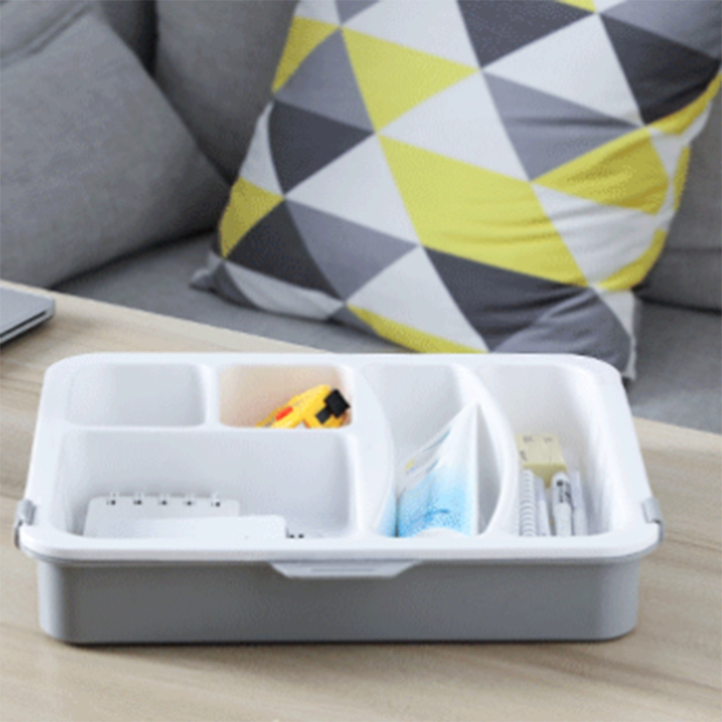 Cutlery-Tray Drawer-Organizer Plastic Storage Kitchen Durable For Utensil Multi-Partition