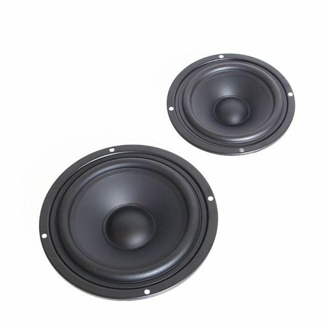 2 pièces 4/5/6.5 pouces Woofer haut-parleur auxiliaire basse klaxon passif radiateur Booster basse plaque vibrante haut-parleur vibrant