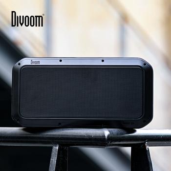 Divoom Voombox Pro przenośny Bluetooth głośnik bezprzewodowy 40w Super bas z 10000 mAh dla 18-Hour czas utworu IPX5 odporny na działanie wody tanie i dobre opinie Przenośne Baterii Metal Pełny Zakres 3 (2 1) ODTWARZANIE WIDEO Funkcja telefonu NONE 40 w Inne Jabłko Muzyka Spotify