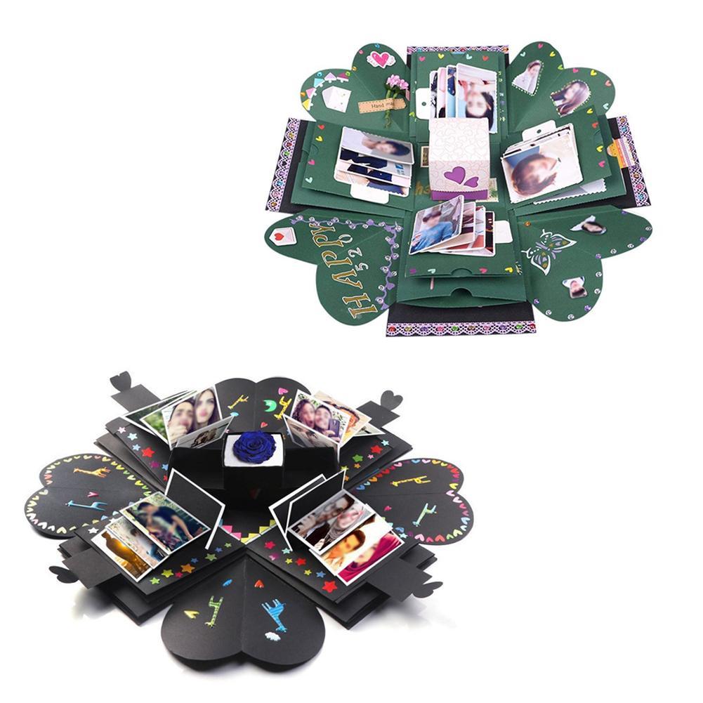 Surprise Explosion Photo Box Multi-layer Finished Diy Handmade Toy Photo Album Christmas Gift Toy  Gift Diy Photo Album