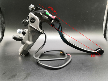 цена на CNC Motorcycle Brake Master Cylinder Cable clutch Radial Brake Pump Universal For Honda Yamaha Kawasaki Suzuki