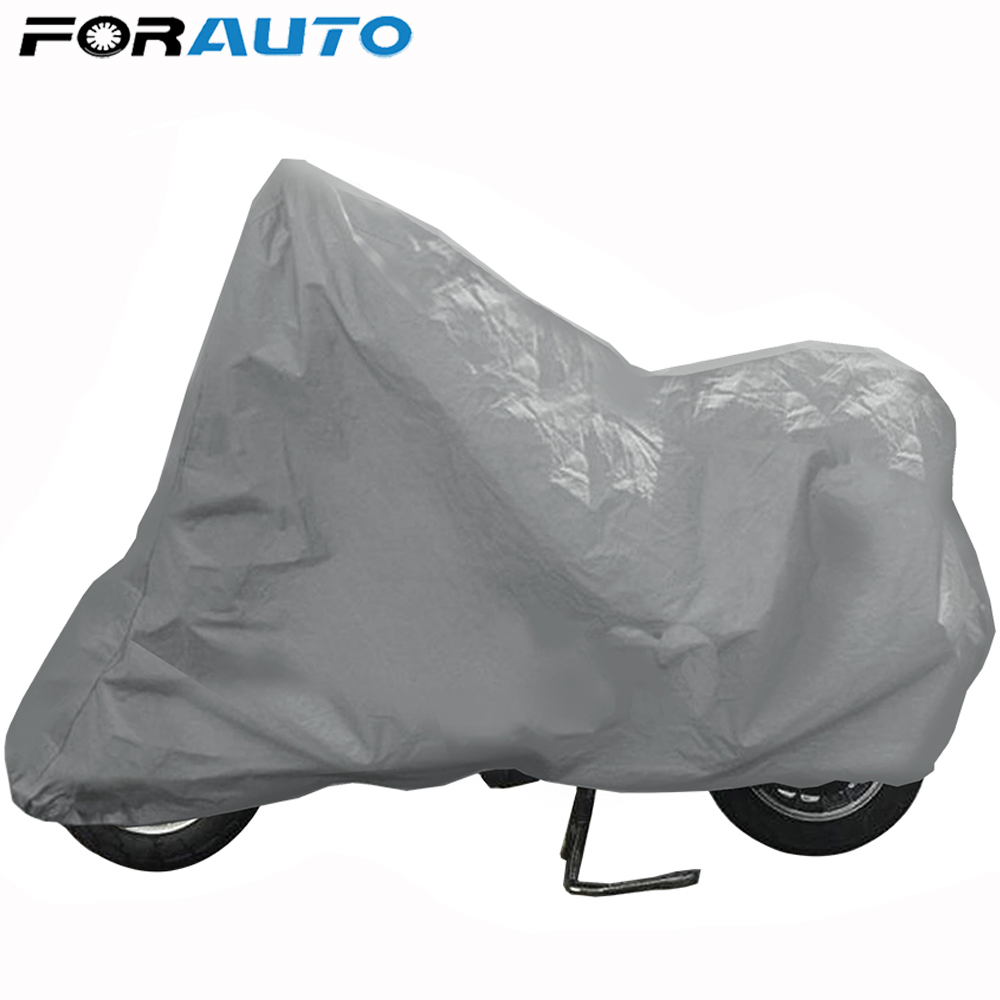 Motorcycle Waterproof Outdoor Indoor Motorbike Rain Vented Bike Cover XL Black