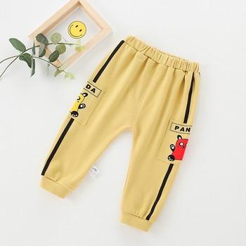 Jesienne spodnie dla niemowląt dorywczo bawełniane spodnie dla dzieci długie spodnie dla niemowląt Pp spodnie dla chłopców i dziewcząt ubrania dla niemowląt odzież dla noworodka tanie i dobre opinie Drukuj Luźne SS00153 Unisex COTTON Na co dzień Pasuje prawda na wymiar weź swój normalny rozmiar Elastyczny pas Wysokiej