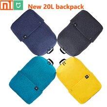 Yeni orijinal Xiaomi Mijia 20L sırt çantası/Unisex/su geçirmez/spor göğüs çantası/seyahat kamp/küçük sırt çantası/Depolama