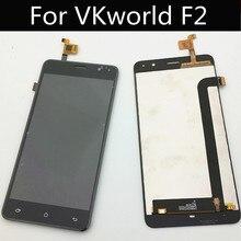 VKworld F2 / Cagabi 하나의 LCD 디스플레이 + 터치 스크린 + 도구 디지타이저 어셈블리 교체 액세서리 전화 5.0