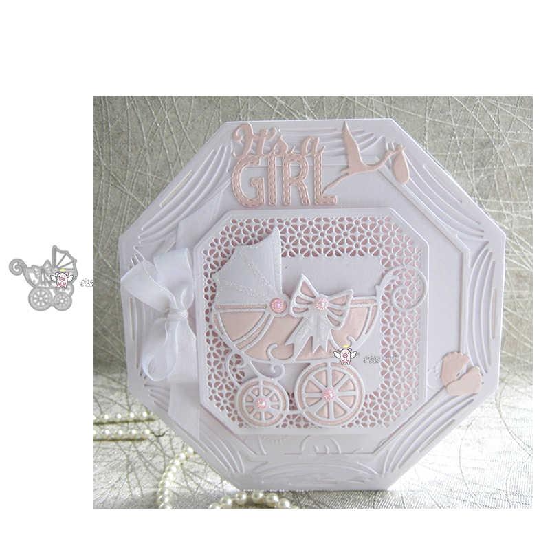 Mmao ремесла металла стали резки штампы новый лук детская коляска трафарет для DIY скрапбукинга бумаги/фото карты тиснение штампы