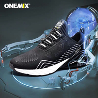 ONEMIX Sneakers Women Tennis Cushioning Athletic Fitness Lightweight Outdoor Sports Men Tennis shoes Original Authentic