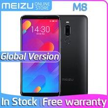 Meizu M8, глобальная версия, V8, 4 ГБ, 64 ГБ rom, мобильный телефон MTK Helio P22, четыре ядра, 5,7 дюймов, 18:9, 1440X720 P, двойная задняя камера, отпечаток пальца, M813H