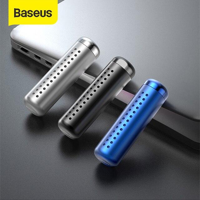 Baseus سيارة معطر جو كليب السيارات منفذ العطر رائحة معطر الهواء حالة الصلبة العطور في اكسسوارات السيارات