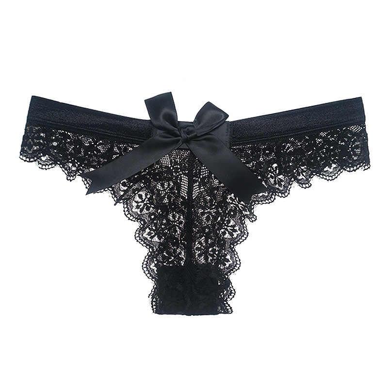 Sexy lingerie feminina g string renda roupa interior femal sexy t-back tanga pura calcinha japão estilo venda quente calcinha transparente
