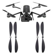 4 זוגות החלפת מדחפים עבור Gopro קארמה Drone מהיר שחרור אבזרי עצמי נעילת להבי אבזר בורג כנף מאוורר חלקי חילוף