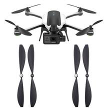 Hélices de repuesto para Gopro Karma Drone, accesorios de liberación rápida, autobloqueo, accesorio de cuchillas, piezas de repuesto para ventilador, 4 pares