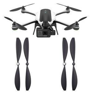 Image 1 - Hélices de repuesto para Gopro Karma Drone, accesorios de liberación rápida, autobloqueo, accesorio de cuchillas, piezas de repuesto para ventilador, 4 pares