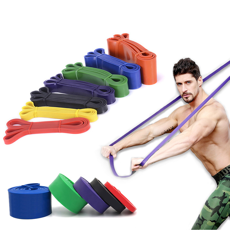 Gym Rubber Resistance Bands Yoga Band Elastic Loop Crossfit Pilates Fitness Expander Pull Up Strength Unisex Exercise Equipment