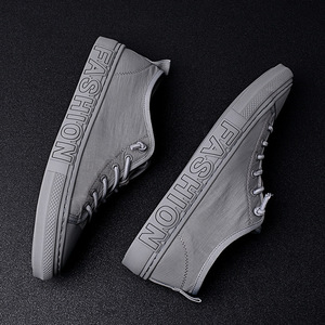 Image 3 - الصيف حذاء قماش الرجال الأزياء أحذية رياضية الساخن بيع مبركن حذاء قماش تنيس Feminino زائد حجم 38 43 الرمادي الكاكي