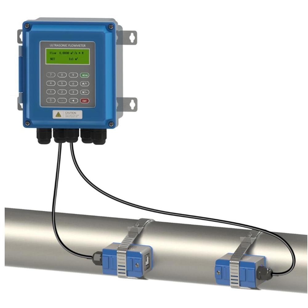 Ultrasonic Liquid Flow Meter RS485 New Generation TUF-2000B Digital Flowmeter DN25mm-DN100mm