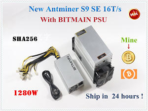 16th/S Miner BTC S11 BITMAIN S17 S15 New SE with Power-Supply BCH Better Than S9 T9 T17
