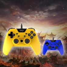 IPEGA PG-SW012 Wired Game Controller Gamepads Dual-Vibration Turbo for Switch PS3 PC Android ipega pg sw001 wireless bluetooth game controller gamepads for pc switch android
