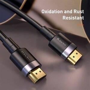 Image 2 - Câble HDMI Baseus 4K HDMI mâle vers HDMI 2.0 cordon de câble pour PS4 Apple TV 4K répartiteur boîtier de commutation Extender 60Hz câble vidéo HDMI 5M