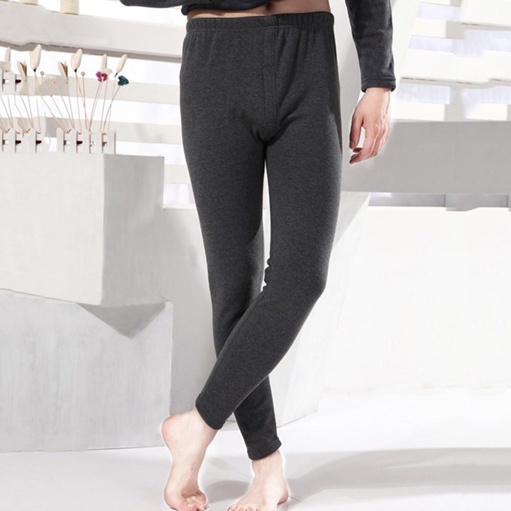 New Winter Warm Mens Warm Leggings Tight Men Long Plus Size Warm Underwear Elastic Tights Men Thermal Warm Pants