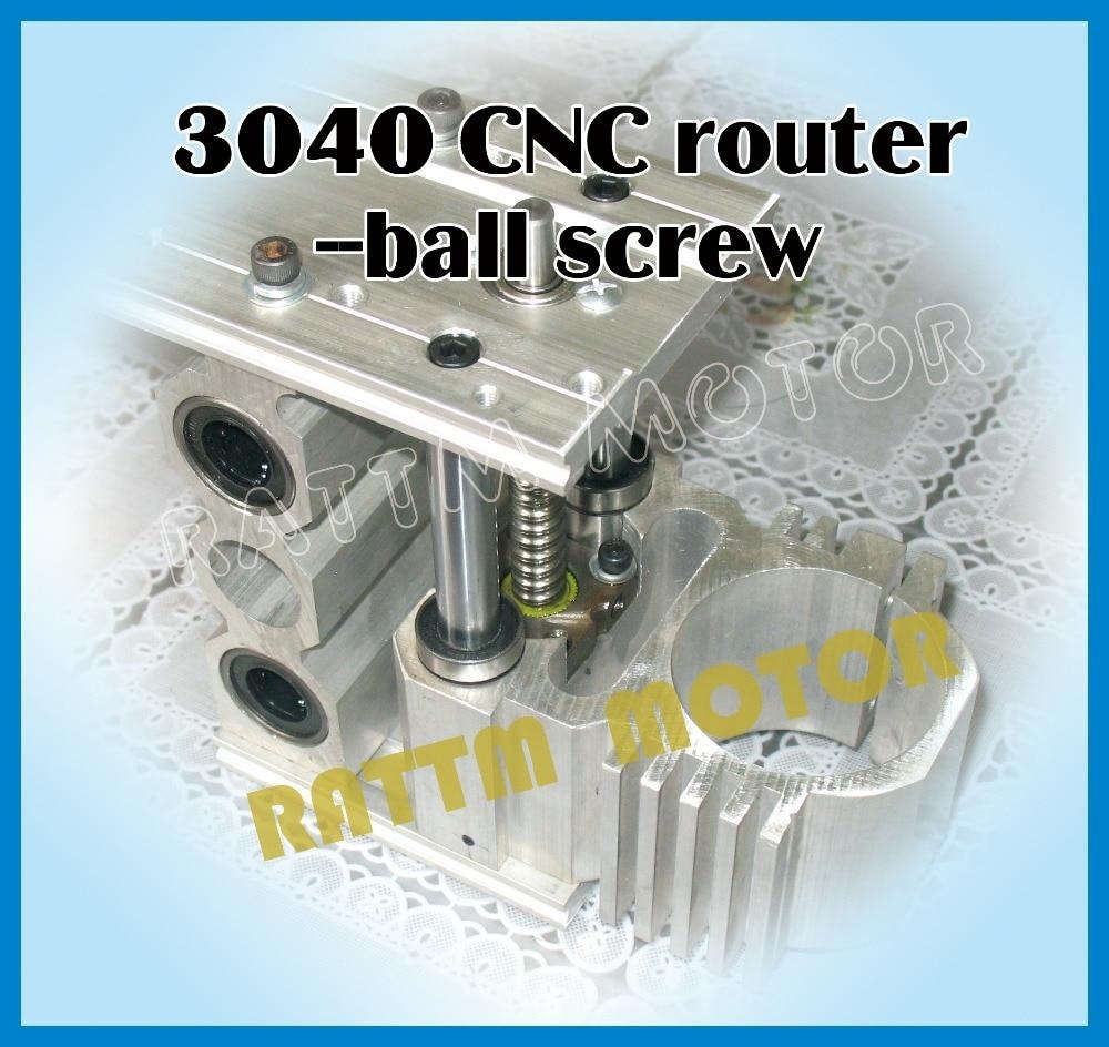 Image 3 - Ferramentas Marcenaria Wood Lathe 3040 Cnc Router Milling Machine Mechanical Kit Aluminium Alloy Frame Ball Screw for Diy UserWood Routers   -
