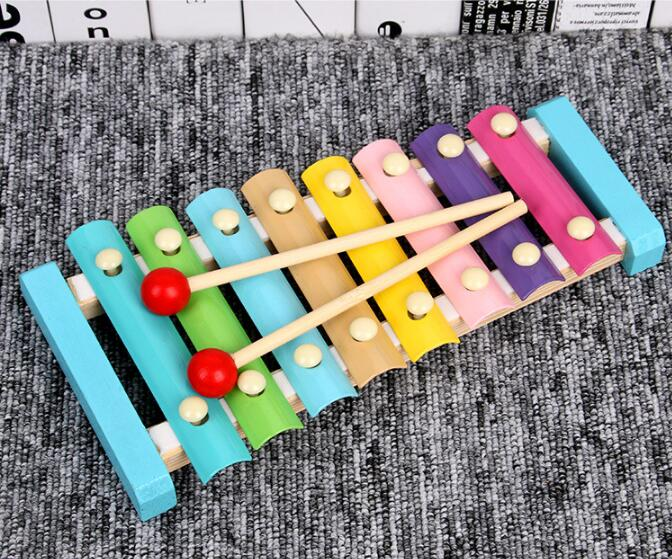 Puzzles Colorful Wooden Toys Worm Kids Learning Educational Didactic Baby Development Fingers Game Children Montessori Gift GYH 5
