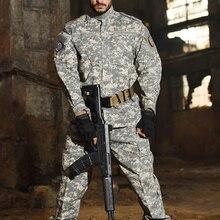 Камуфляжный костюм для кемпинга HAN WILD, Тактическая Военная куртка в стиле татико + брюки, камуфляжная одежда для страйкбола, пейнтбола, костю...