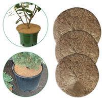 10 pçs cobertura de cobertura de cobertura de cobertura de cobertura de cobertura de cobertura de cobertura de coco para a jardinagem discos de cobertura proteção contra geada inverno|Capa p/ plaina| |  -
